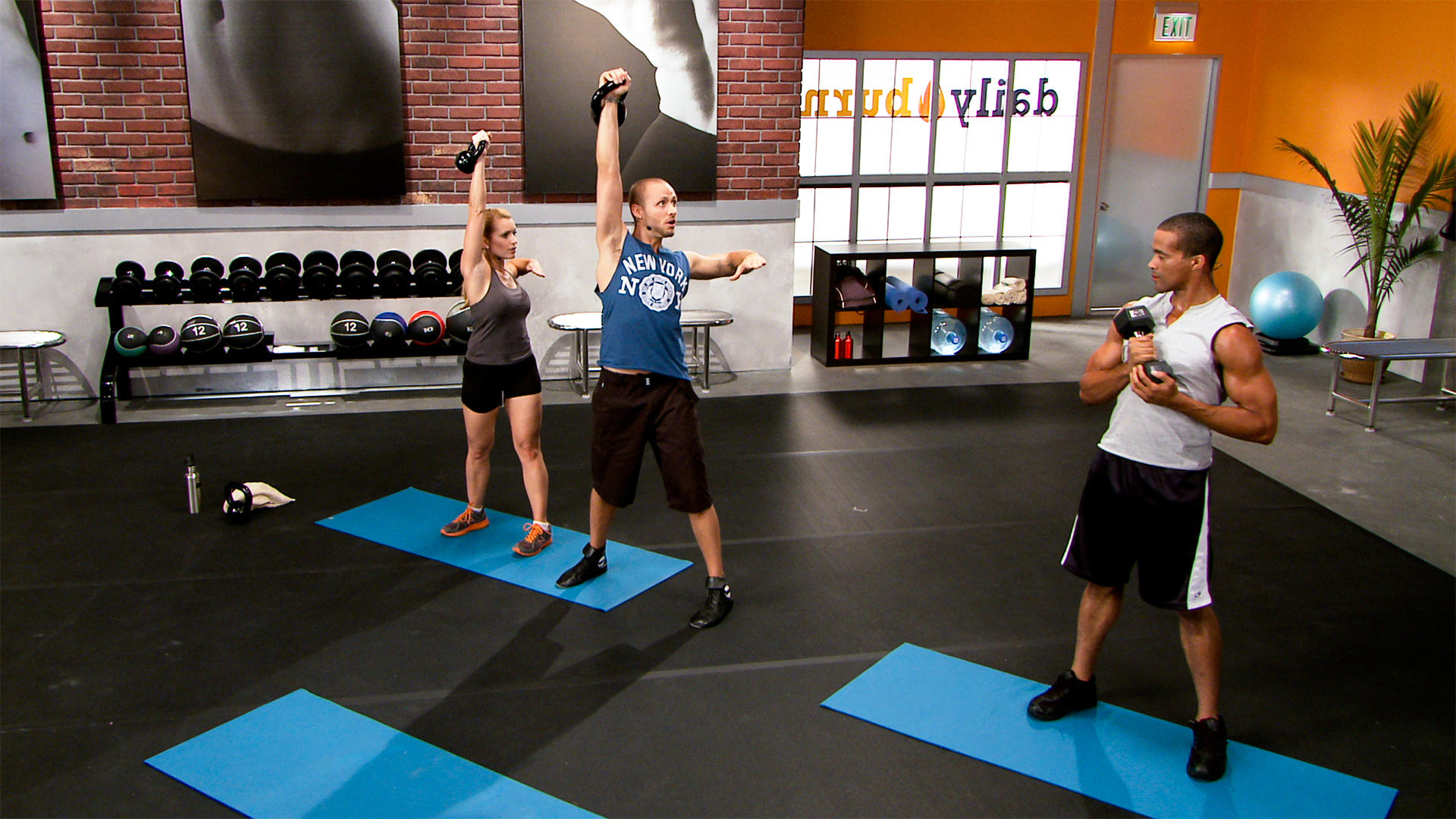 Daily Burn Now This You Can Do On Pinterest Circuit Workouts Workout And Kettlebell 38 Min Complete